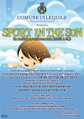 Sport in the sun