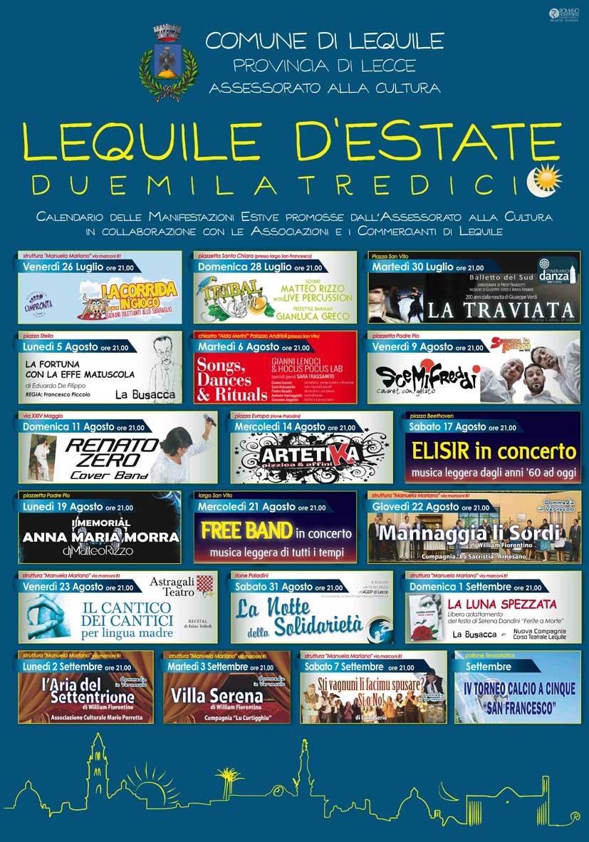 Lequile d'Estate 2013