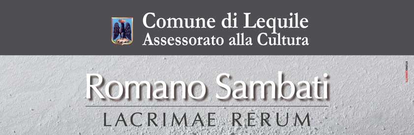 Lacrimae rerum – Romano Sambati