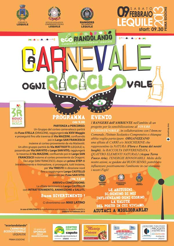 A Carnevale ogni RICICLO Vale!
