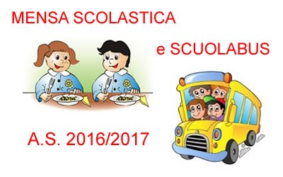 Avviso: Scuolabus  e Mensa