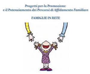 """Minori in affido: il progetto """"Famiglie in Rete"""""""