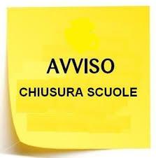 ChiusuraScuole