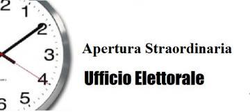 Elezioni europee e comunali del 26 maggio 2019 – aperture straordinarie Ufficio Elettorale