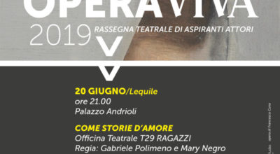 COME STORIE D'AMORE – OPERA VIVA / DAIMON*1920 GIUGNO 2019