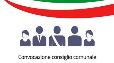 Convocazione del Consiglio Comunale, giovedì 6 Giugno 2019 ore 20,00 e in seconda convocazione per le ore 20.00 di sabato 08 giugno 2019