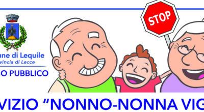 """Servizio """"Nonno-Nonna Vigile"""""""