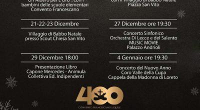 Natale a Lequile: Calendario eventi