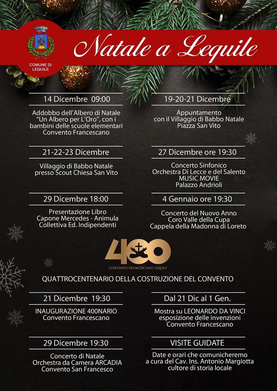 Comune Di Lequilenatale A Lequile Calendario Eventi