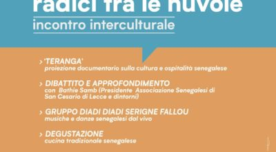incontro interculturale Baobab radici tra le nuvole 28.12.2019 dalle ore 16,00 presso laboratorio urbano S.P San Donato di Lecce – Galugnano