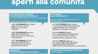 Workshop aperti alle comunità