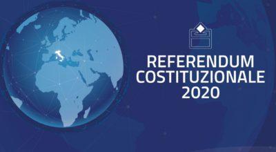Referendum Costituzionale 2020 – Elettori residenti all'estero