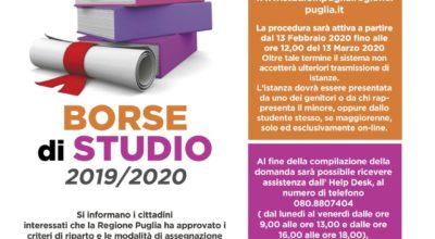 Borse di Studio 2019/2020