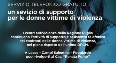I centri antiviolenza della Regione Puglia