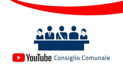 E' on line la ripresa streaming dei lavori del Consiglio Comunale di mercoledì 28 ottobre ore 18:00