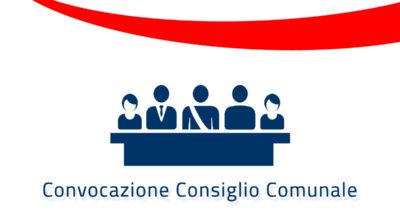 Convocazione del Consiglio Comunale in seduta ordinaria per le ore 19.00 di venerdì 8 maggio