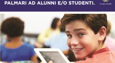 Utilizzo contributo Regionale per la distribuzione di tablet palmari ad alunni e/o studenti