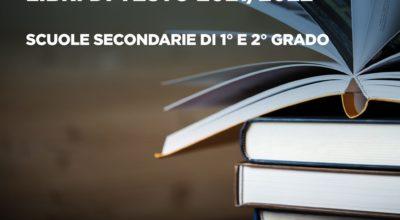 Fornitura Libri di testo 2021/2022 – Scuole secondarie di 1° e 2° grado