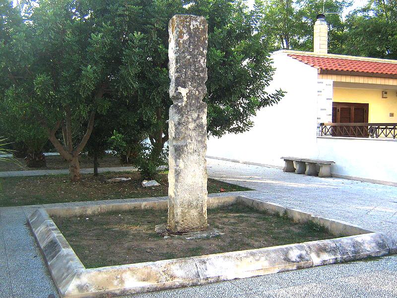 Menhir Aia della Corte