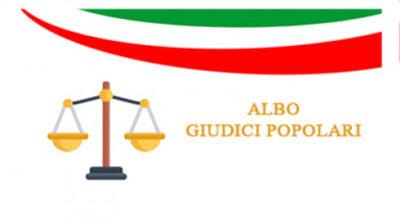 Avviso aggiornamento degli Albi dei Giudici Popolari per le Corti d'Assise e per le Corti d'Assise d'Appello